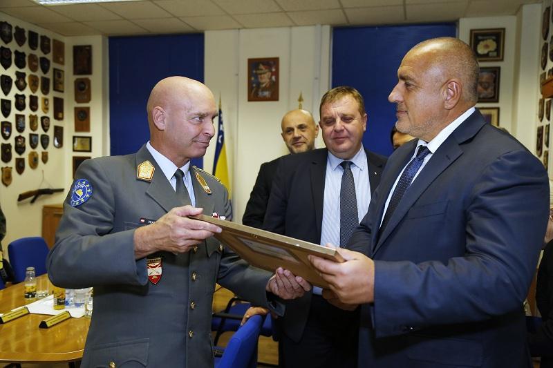 снимка 4 Премиерът Борисов пристигна на официално посещение в Босна и Херцеговина