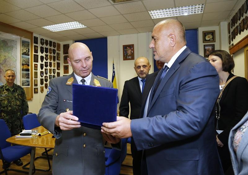 снимка 5 Премиерът Борисов пристигна на официално посещение в Босна и Херцеговина