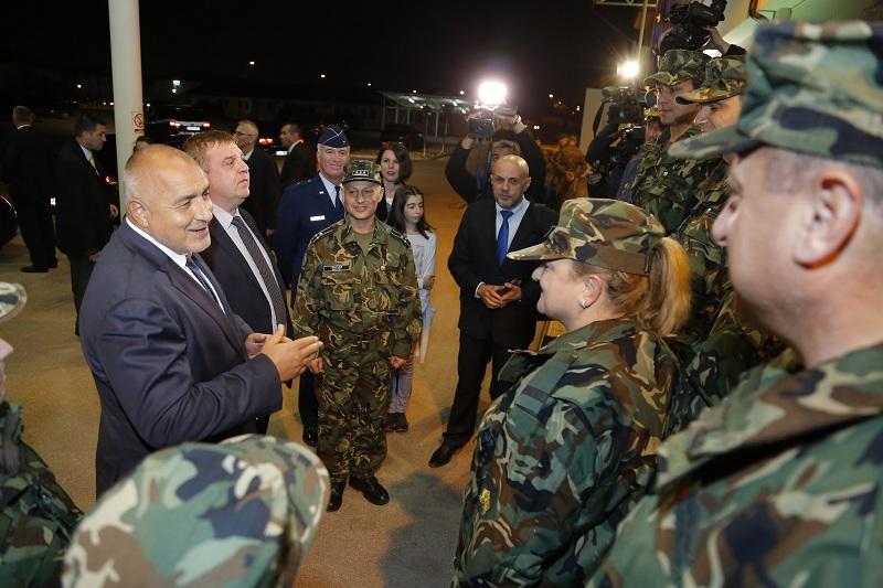 снимка 6 Премиерът Борисов пристигна на официално посещение в Босна и Херцеговина