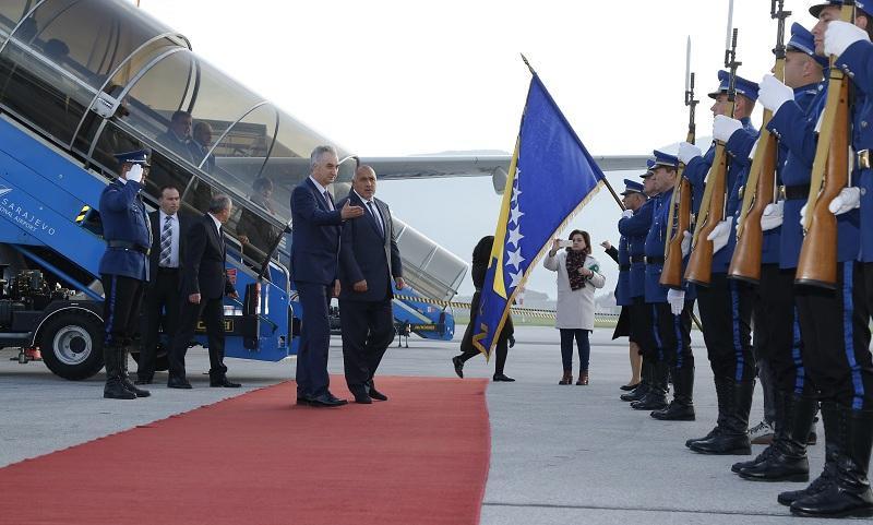 снимка 7 Премиерът Борисов пристигна на официално посещение в Босна и Херцеговина