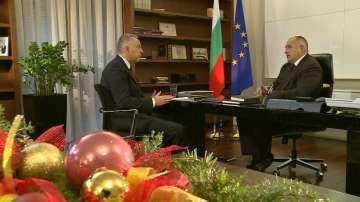 Бойко Борисов пред Панорама: Мирът на Балканите е мирът в България