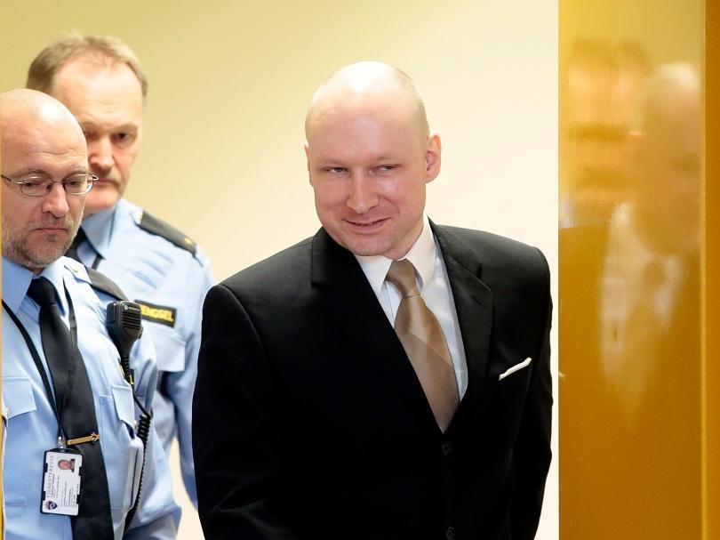 масовият убиец брайвик спечели делото нарушаване човешките права