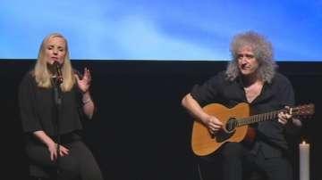 Легендарният китарист на Куин и звездата на Бродуей на българска сцена