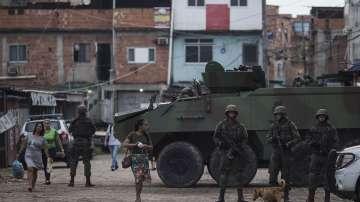 Армията поема сигурността в щата Рио де Жанейро