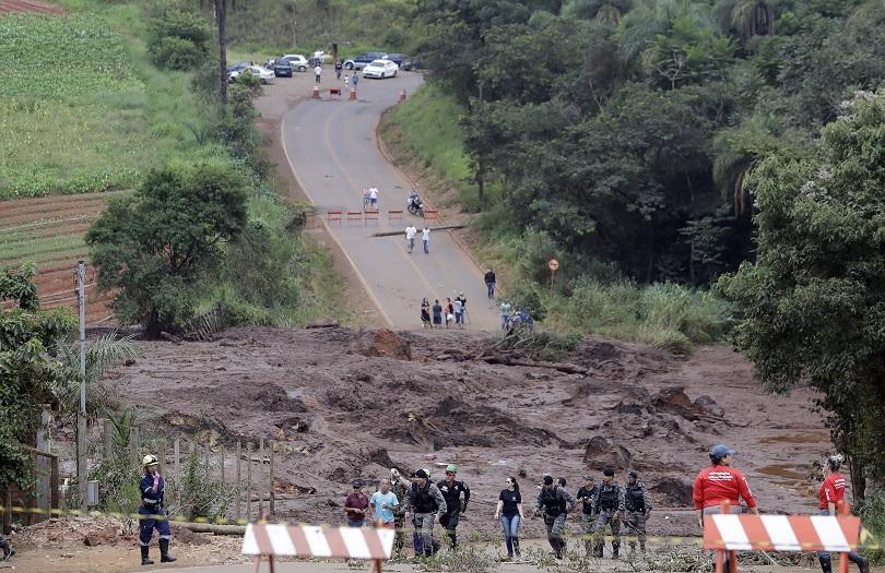 110 са вече жертвите от рухването на хвостохранилище в Бразилия