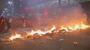 Сблъсъци в Бразилия по време на процеса срещу Дилма Русеф
