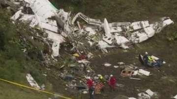 Липса на гориво е причина за катастрофата на самолета в Колумбия