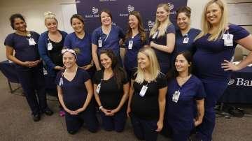 16 сестри от клиника в Аризона са бременни едновременно