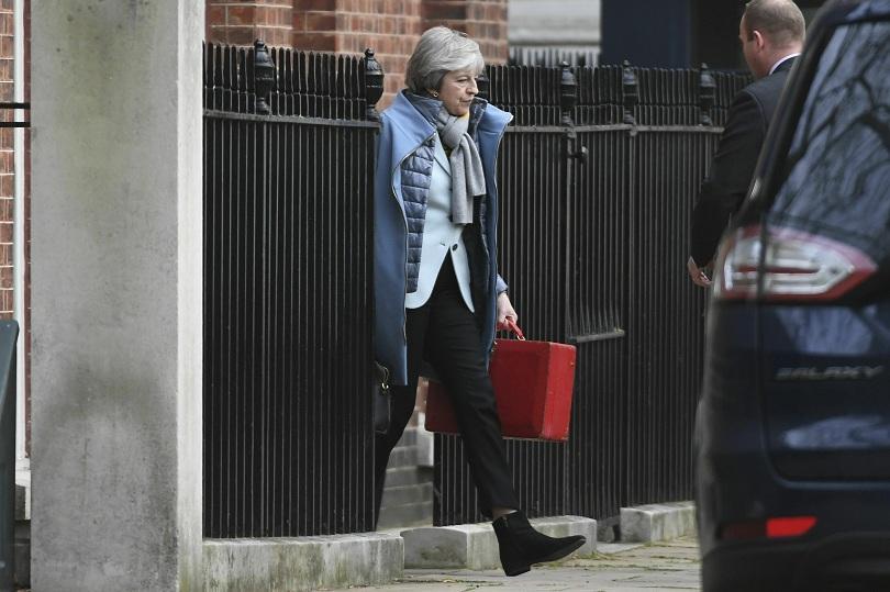 Снимка: Тереза Мей ще представи резервен план за Брекзит