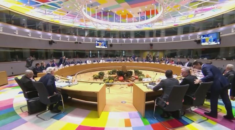 След повече от шест часа дебати европейските лидери така и