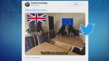 Брекзит в социалните мрежи
