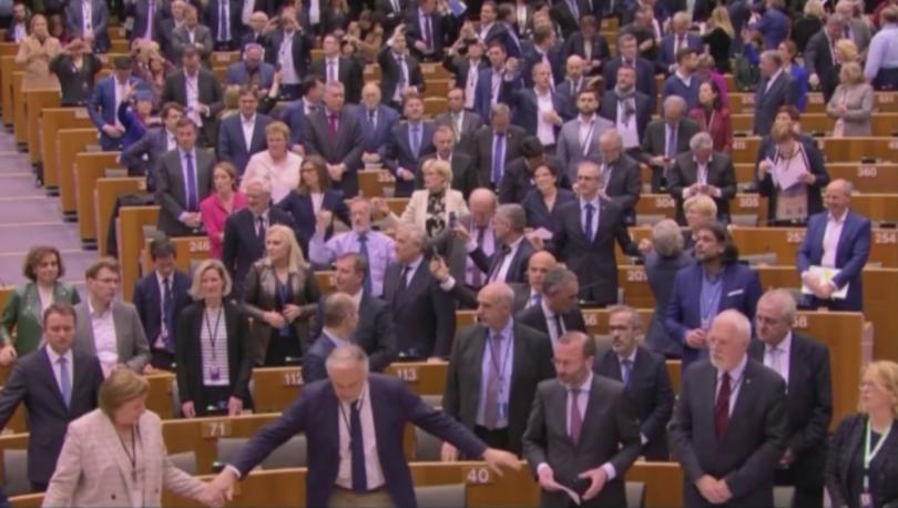 Гласуването за Брекзит в Европейския парламент приключи. Очаквано, споразумението за