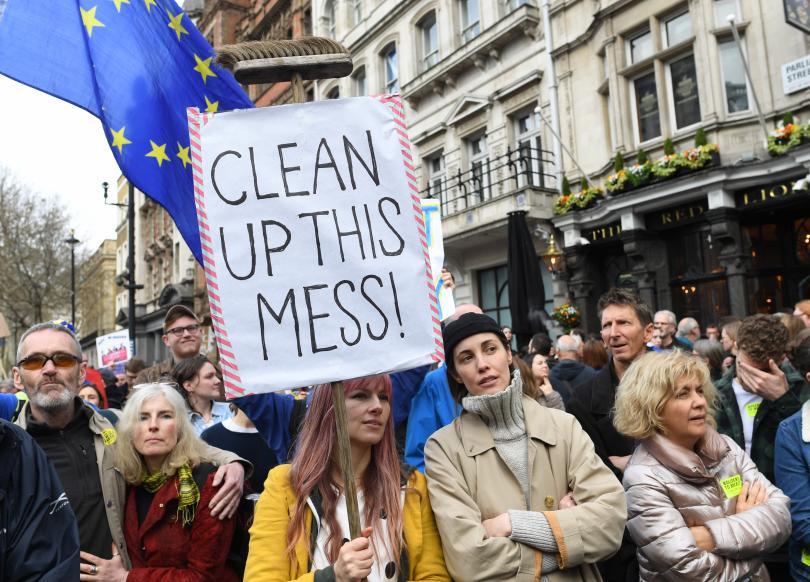 Петиция, призоваваща правителството на Великобритания да отмени Брекзит и да