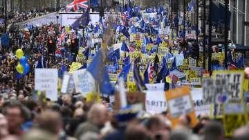 Милионен марш в Лондон с искане за втори референдум за Брекзит