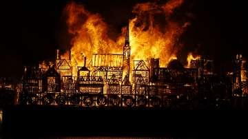 Лондон гори - отново