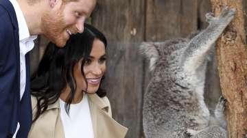 Принц Хари и Меган Маркъл посетиха зоопарка в Сидни