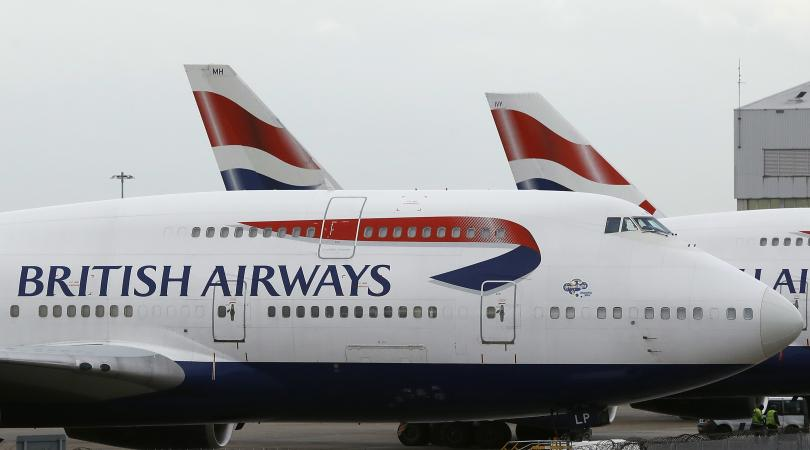 Самолет на британската авиокомпания British Airways с полет Москва-Лондон извърши