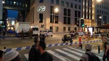 Застреляха мъж в Брюксел, атакувал войници с нож