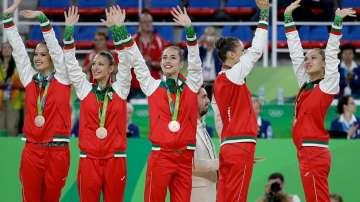 Бронз за българския ансамбъл по художествена гимнастика в Рио