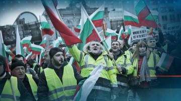 Транспортните правила остават без промяна, в Брюксел протестираха превозвачи