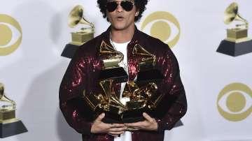 Бруно Марс е най-големият победил на тазгодишните Грами