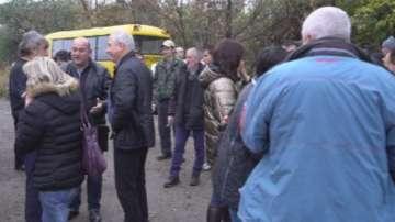 Протест в Брусарци срещу закриването на пожарната