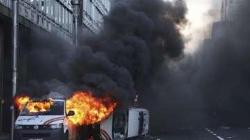 Безредици в Брюксел заради демонстрации на жълтите жилетки