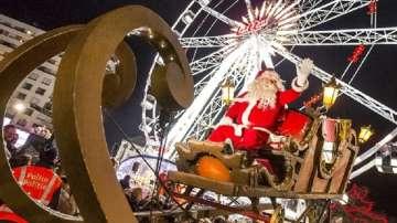 Изтребители контролират полета на шейната на Дядо Коледа