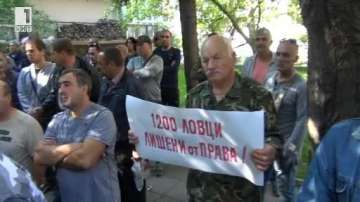 Ловци излязоха на протест и поискаха оставката на шефа на горското в Несебър