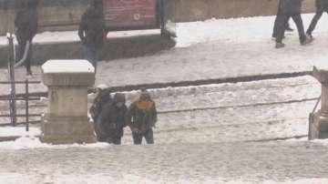 Първият сняг заваля в Унгария