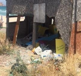 снимка 1 Боклуци на плаж Буджака край Созопол