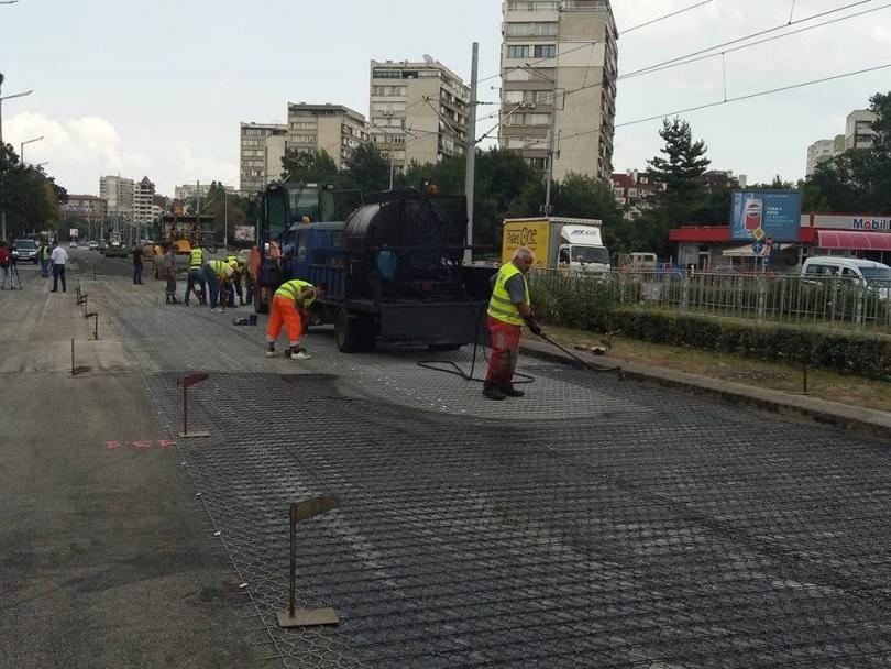 В събота, 25 август, пускат движението по бул.