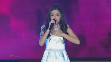 Вижте изпълнението на Лидия на финала на Детската Евровизия