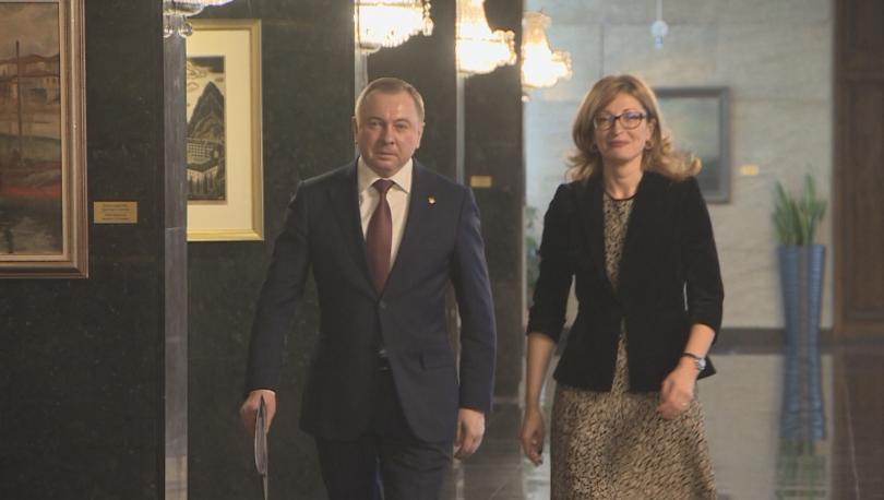 Външните министри на България и Беларус обсъдиха задълбочаването на сътрудничеството