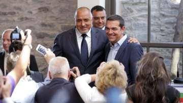 Лидерите на България и Гърция подписаха меморандум за нов транспортен коридор