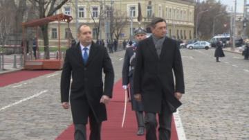 Словенският президент е на официално посещение в България по покана на Радев