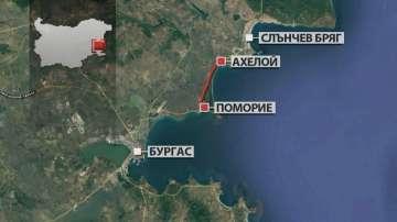 Днес започва изграждането на разширението на пътя Слънчев бряг - Бургас