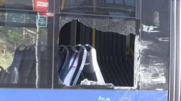 ТИР се блъсна в автобус на градския транспорт в Бургас