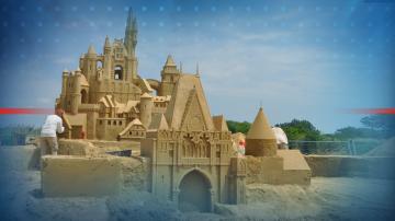 """""""Любими детски герои е мотото на фестивала на пясъчните скулптури в Бургас"""
