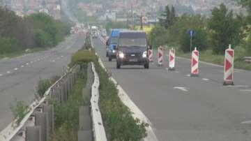 Ремонтни дейности ограничават движението по АМ Тракия в посока Бургас