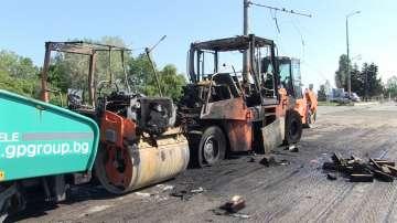 Арестуваха мъж за палежа, който спря тролеите в Бургас