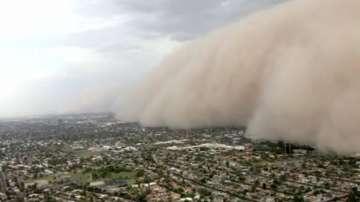 Пясъчна буря във Финикс (ВИДЕО)