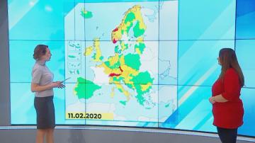 Има ли опасност бурята Киара да достигне до България?