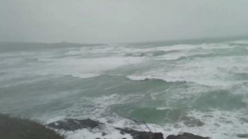 Мощна буря в Югозападна Франция