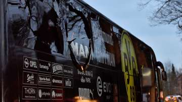 Взривове до автобуса на Борусия Дортмунд, пострадал е защитникът на отбора