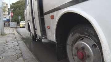 Набиха шофьор на автобус в Шумен