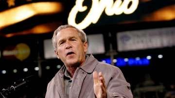 Книга с картини на Джордж Буш излиза през 2017 г.