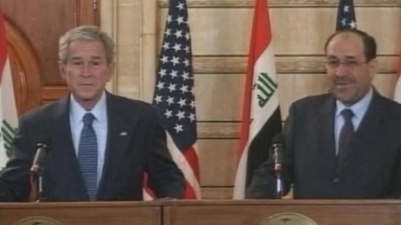 журналистът замери обувки буш кандидатира изборите ирак
