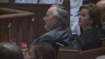 Джордж Буш-баща е приет в болница в Хюстън