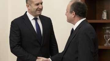 Президентът Румен Радев разговаря с посланика на САЩ